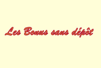 Bonus sans dépôt